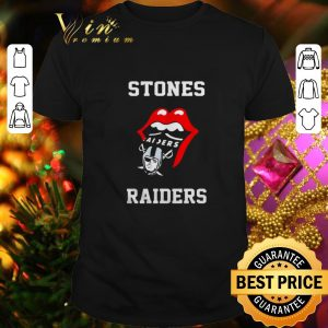 Official Rolling Stones Raiders and Oakland Raiders logo shirt