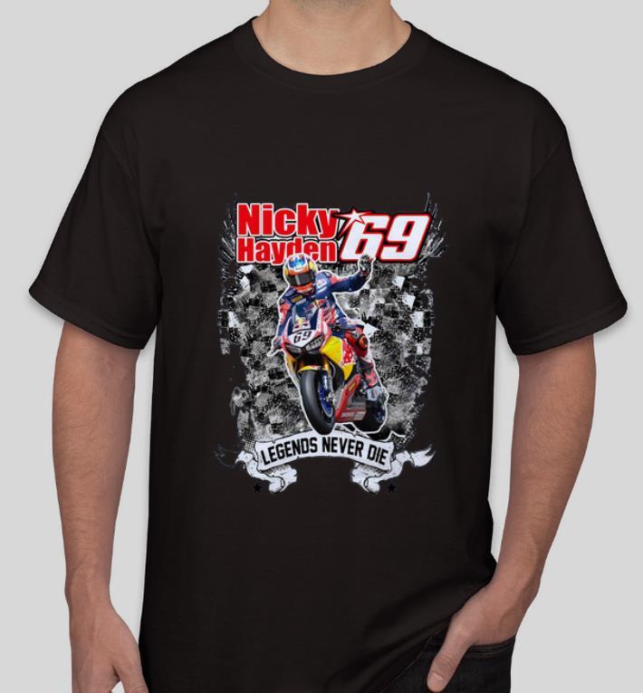 Original Nicky Hayden Legends Never Die shirt 4 - Original Nicky Hayden Legends Never Die shirt