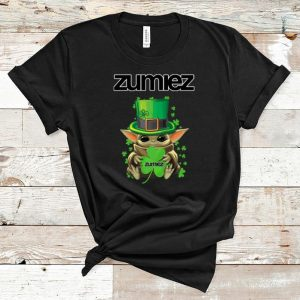Premium Baby Yoda Zumiez Shamrock St.Patrick's Day shirt