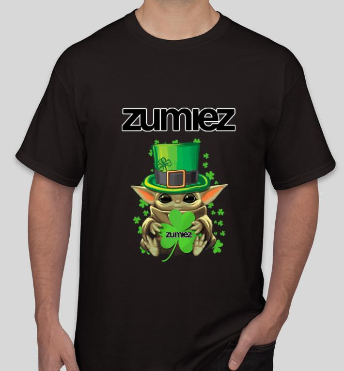 Premium Baby Yoda Zumiez Shamrock St Patrick s Day shirt 4 - Premium Baby Yoda Zumiez Shamrock St.Patrick's Day shirt