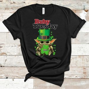 Top Baby Yoda Ruby Tuesday Shamrock St. Patrick's Day shirt
