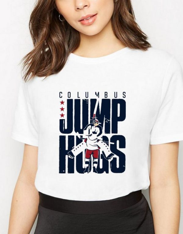 Top Columbus Jump Hugs shirt