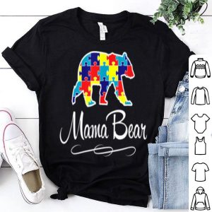 Awesome Autism Mama Bear shirt