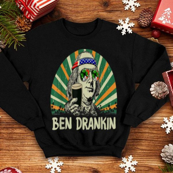 Awesome Ben Drankin Drink Beer St Patrick's Day Gift For Men Woman shirt