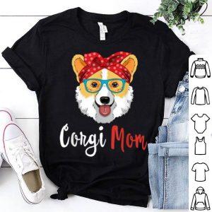 Awesome Corgi Mama Puppy Mom Dog Mama Lover Gift shirt
