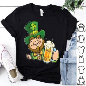 Awesome Funny Leprechaun St Patrick`s Day shirt