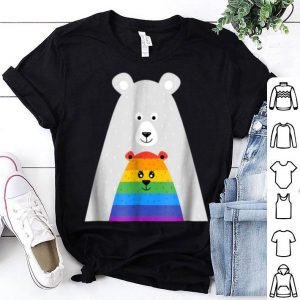 Awesome Mama And Baby Bear Gay Pride Gift Lgbt Lesbian March shirt