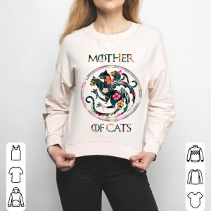 Nice Cat Lovers - Mother Of Cats Mix Flower shirt