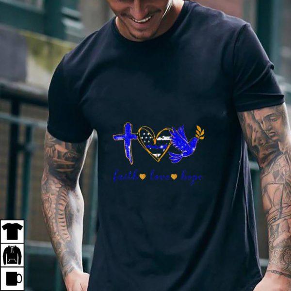Nice Jesus Faith Love Hope shirt