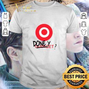 Official Done target yet Target logo shirt