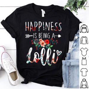 Official Happiness Is Being A Lolli For Mother Day Gifts shirt