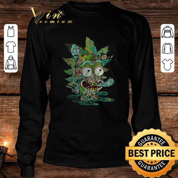 Official Rick and Morty ghost peace mong worlds shirt