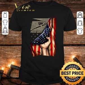 Official United States Postal Service America Flag 4th of July Independence day shirt