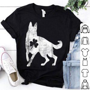 Original German Shepherd Irish Clover St Patrick Day Dog Gift shirt