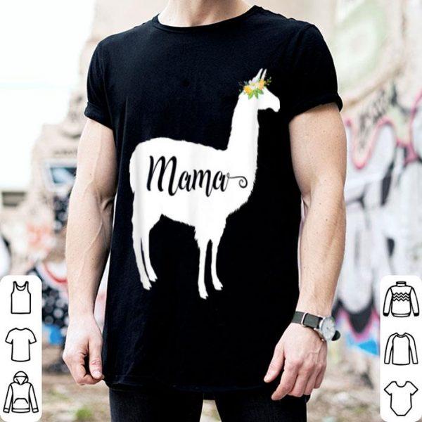 Original Llama Mama For Llama Alpaca Lovers shirt