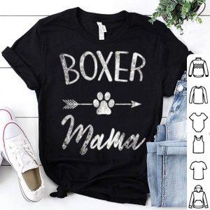 Premium Boxer Mama Boxer Lover Owner Gift Boxer Dog Mom shirt