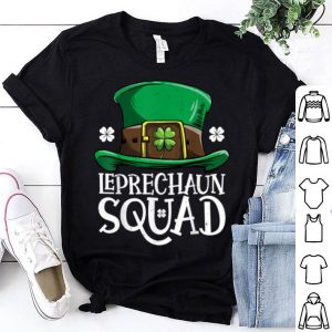 Premium Leprechaun Squad St Patricks Day Boys Kids Men Costume Gifts shirt