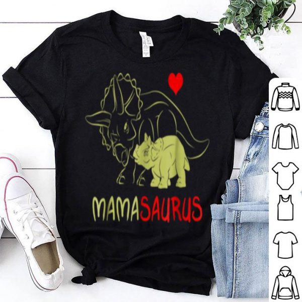 Pretty Awesome Mama Triceratops Dinosaur Funny Gift For Mother Day shirt