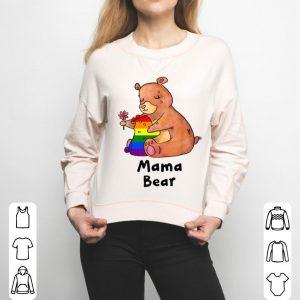 Pretty Mama Bear Proud Mom Lgbt Gay Pride Lgbt Cute Mom Gifts shirt
