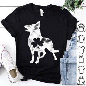 Top German Shepherd St Patricks Day Boys Men Dog Shamrock Gift shirt