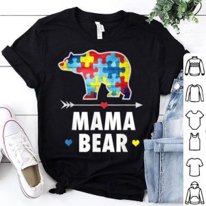 Top Mama Bear Autism Awareness Autism Mom, Mommy Gift Tee shirt