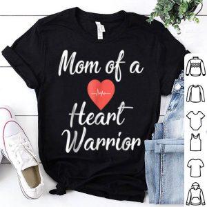 Top Mom Of A Heart Warrior Pride Awareness shirt