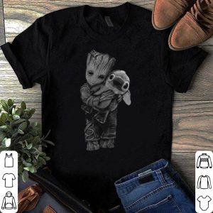 Baby Groot Hugs Satitch shirt