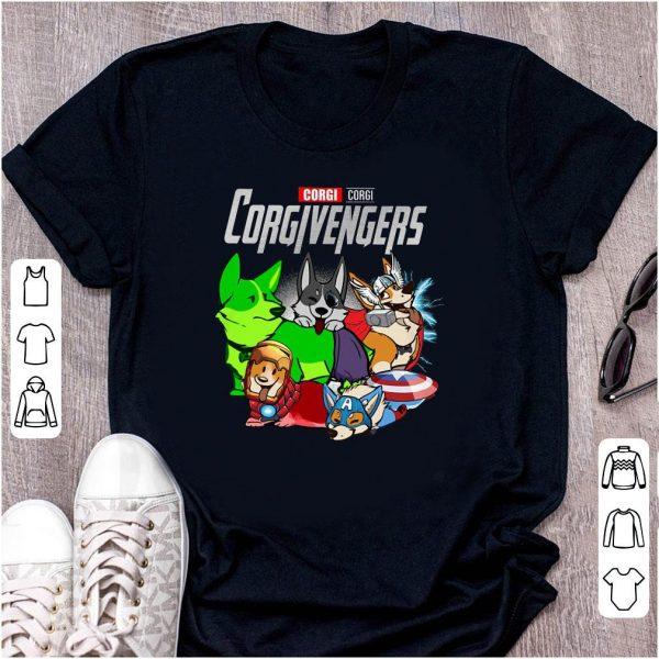 Corgi Corgivengers Marvel Avengers Endgame shirt