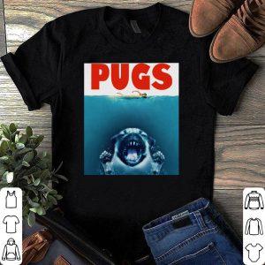 Dog Pugs Shark's Jaw shirt