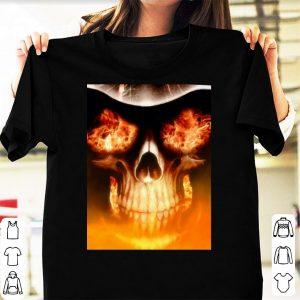 Eyes fire grim reaper shirt