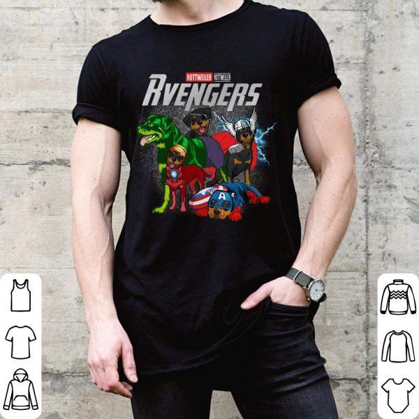 Marvel Super Heroes Rottweillervengers Dog Version shirt