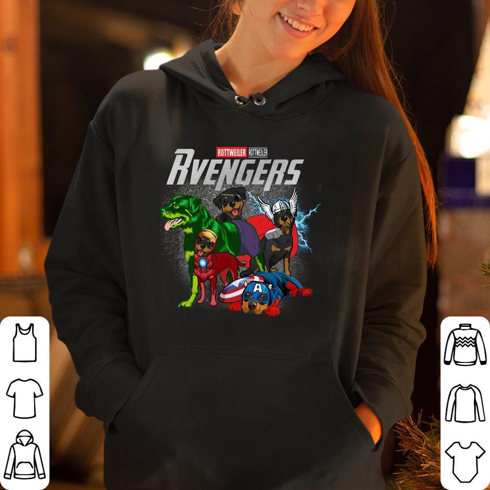 Marvel Super Heroes Rottweillervengers Dog Version shirt 4 - Marvel Super Heroes Rottweillervengers Dog Version shirt