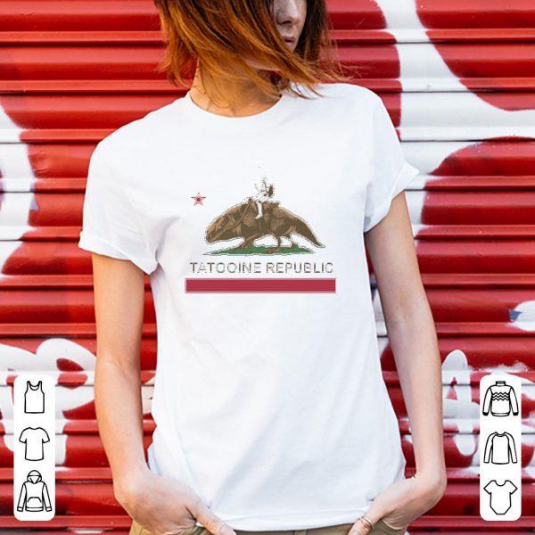 Star Wars Tatooine Republic shirt