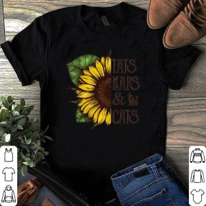 Sunflower Tattoo Naps And Cats shirt