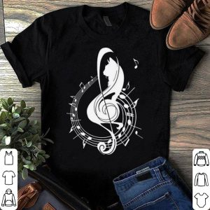 Cat Pitches Music shirt