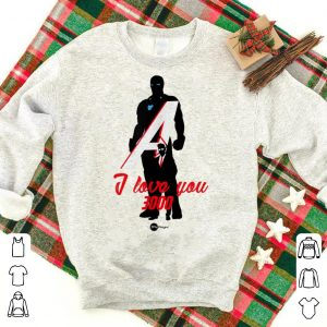 Father day Love you 3000 Avenger Iron dad End Game shirt