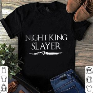 Game of thrones night king slayer shirt