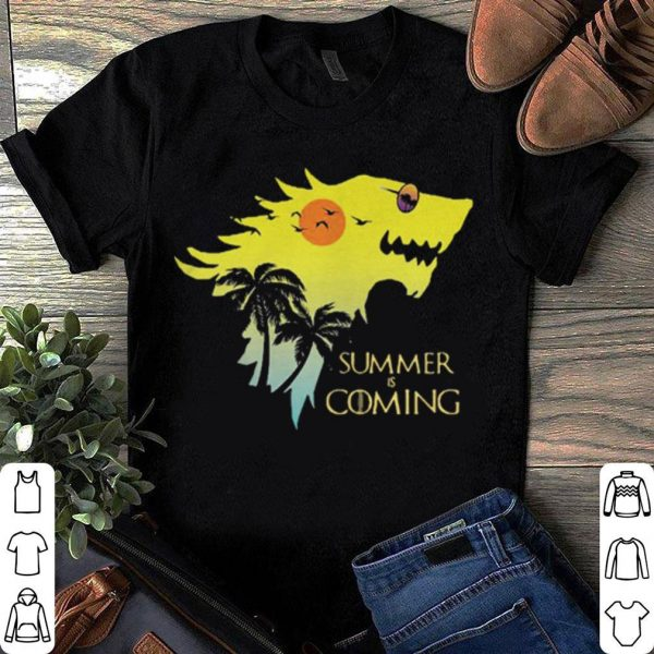 House Stark summer is coming Game of Thrones shirt