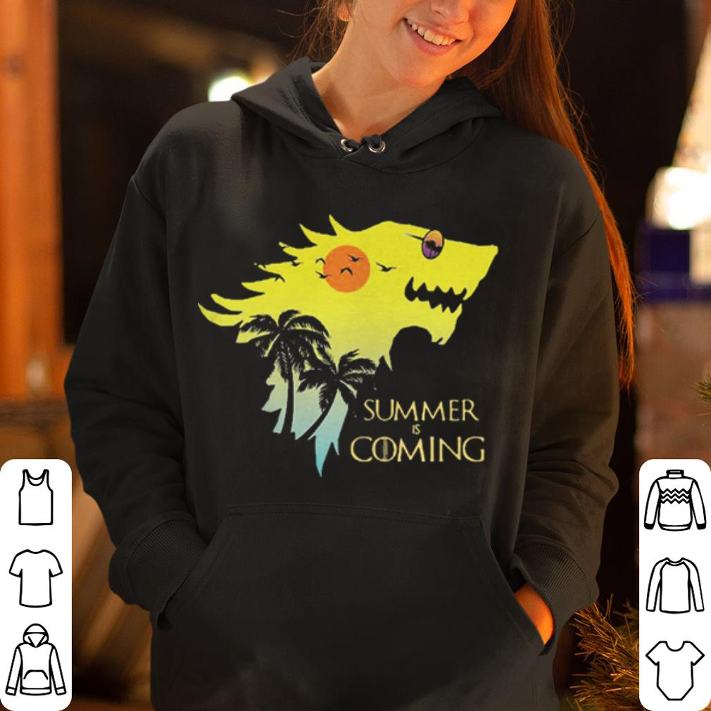 House Stark summer is coming Game of Thrones shirt 4 - House Stark summer is coming Game of Thrones shirt