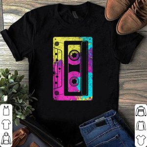 Nice Vintage Retro Music Cassette Tapes Mixtape 80s and 90s shirt