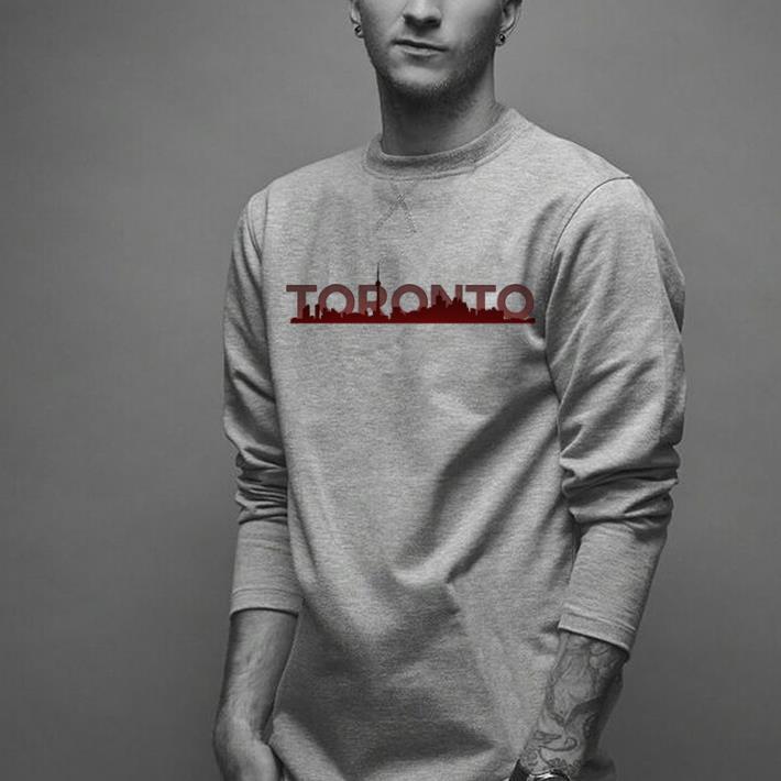 e9998ddb872 Toronto Skyline Toronto Raptors shirt, hoodie, sweater, longsleeve t ...