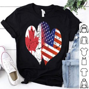 Canada Usa Canada Independence Day Canada Flag shirt