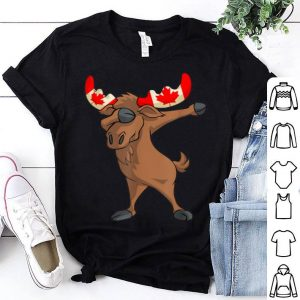 Canadian Dabbing Moose Canada Day shirt