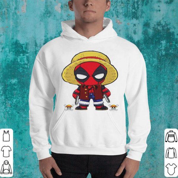 Deadpool Luffy Funny One Piece Shirt