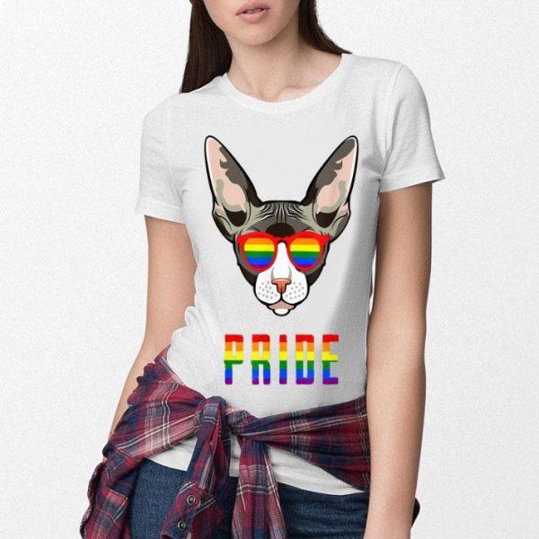 Gay Pride LGBT Sphynx Cat Shirt