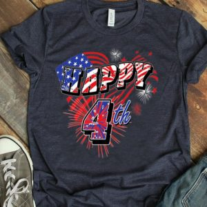 Happy 4th Of July Firework Happy Independence Day shirt