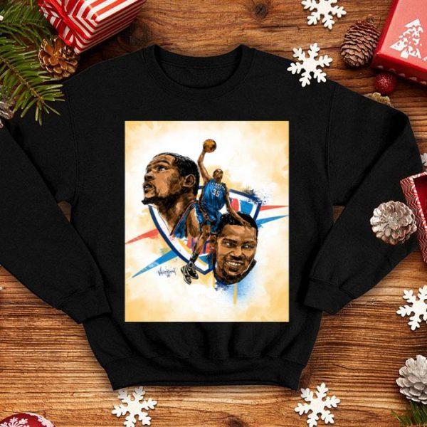 Kevin Durant Basketball Player Golden State Warriors NBA Shirt