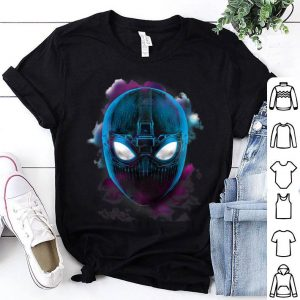 Marvel Spider-man Far From Home Lightning Stealth Portrait Shirt