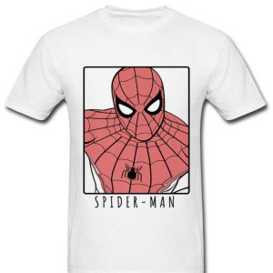 Marvel Spider-man Far From Home Ornate Simple Shirt