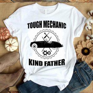 Mens Mens Tough Mechanic Kind Father Auto Car Mechanic Dad Tshirt Shirt